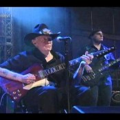 Johnny Winter Late Night Appearance